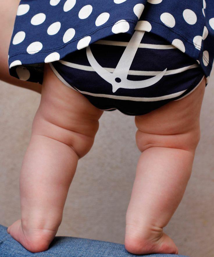 EM Children's Underwear Anchor Navy/Offwhite - emma och malena