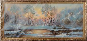 Пришла зима - Зимний пейзаж <- Картины маслом <- Картины - Каталог | Универсальный интернет-магазин подарков и сувениров