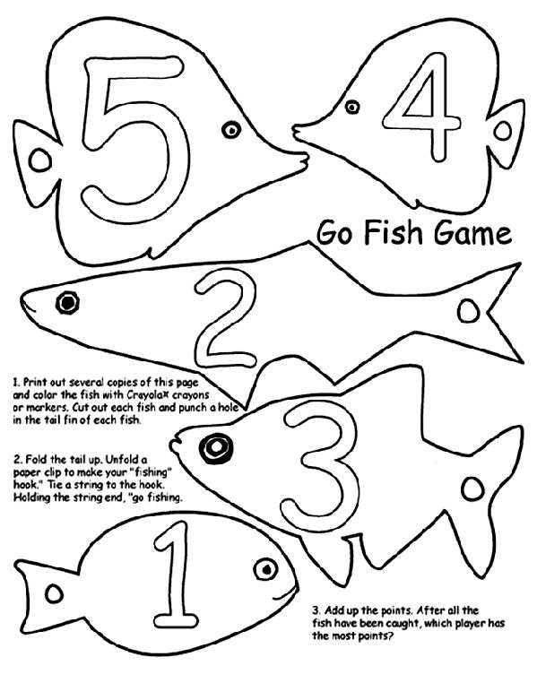 Family fun Earth day activities. 1. Print out several copies of the Go Fish Game page...