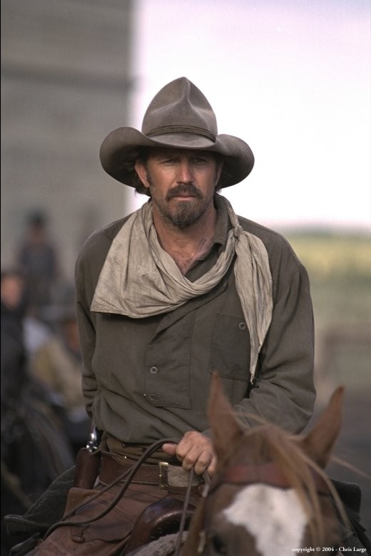 Kevin Costner in Open Range. Great movie!
