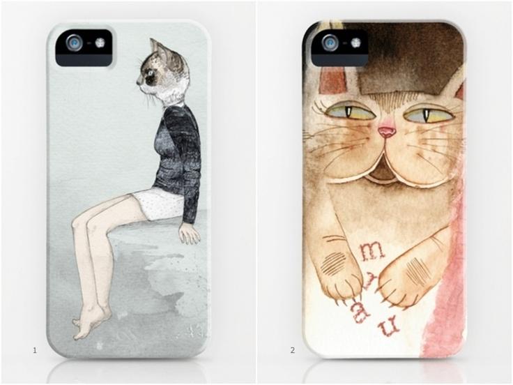 Os gatinhos estão por toda parte, até mesmo nas capinhas de celular ♥