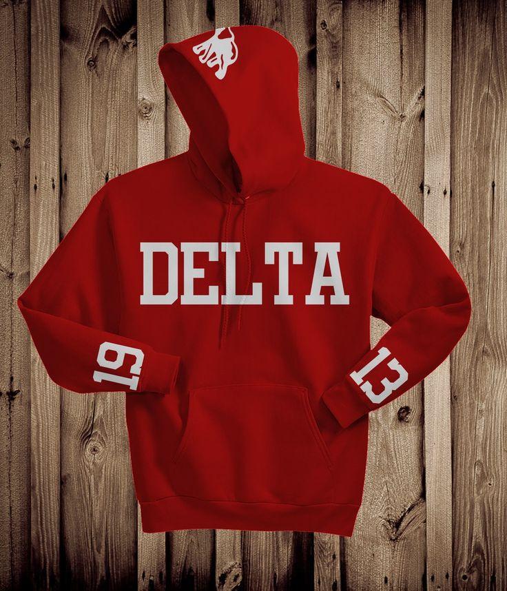 Image of Delta Motto Hoodie