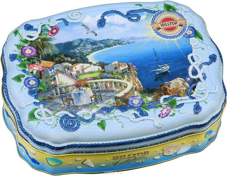 Купить Hilltop Морская ривьера черный листовой чай, 100 г в интернет-магазине OZON.ru