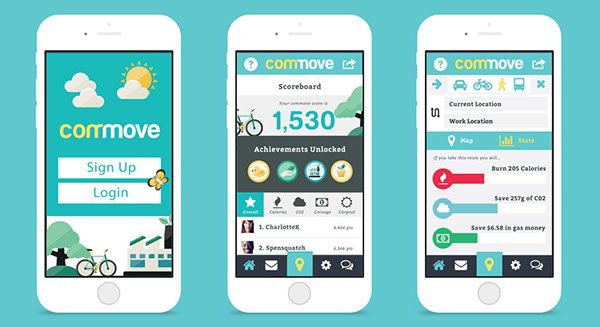 Commove on Behance