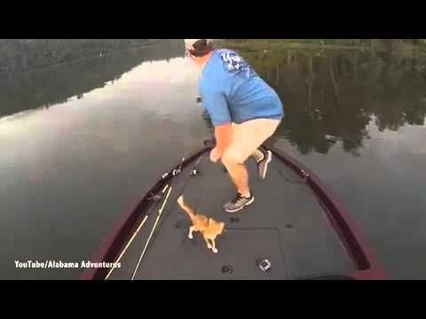A guy Gone cat fishing on the Warrior River