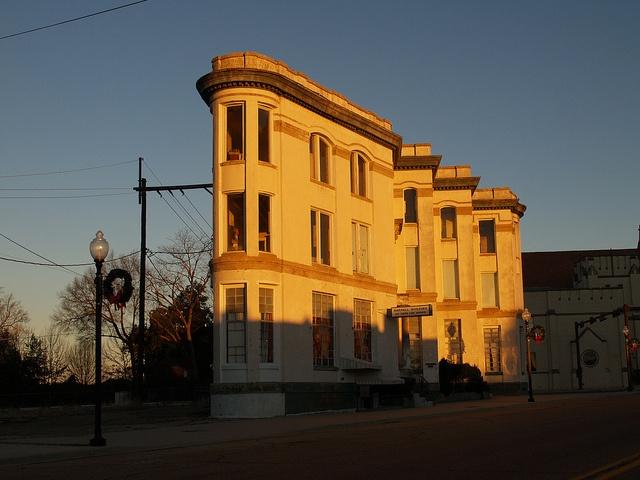 Texarkana Texas Arkansas Old Historic Small Town