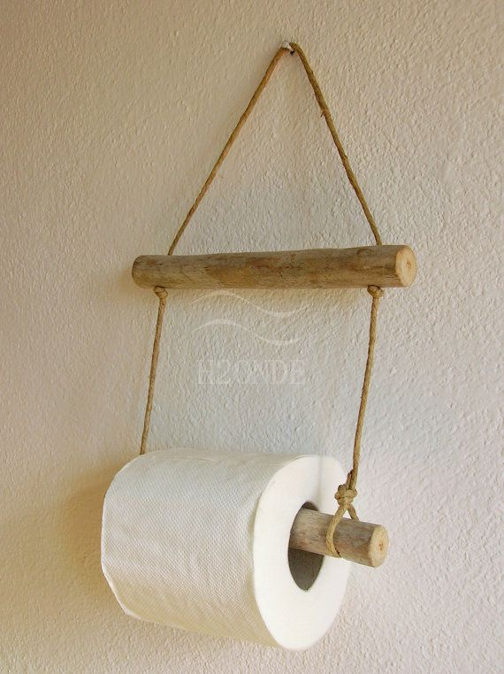 Home & Living Bathroom Décor toilet paper holder roll hanger driftwood hanger wall mount beach house wood rustic coastal bath natural ocean cottage twine holder wc h2onde farmhouse rouleau de papier bois flotté porta carta igienica arredo bagno casa for sale vendta legno Porta rotolo muro parete appeso naturale toilette rustico casa mare spiaggia stile nautico marino arredo wc lago shabby toalettpappershållare Toilettenpapierhalterung  卫生纸架 soporte para papel higiénico