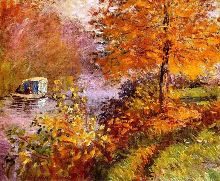 The Top 5 Most Popular Paintings By Monet In August | http://thebrushstroke.com/top-5-popular-paintings-monet-august/