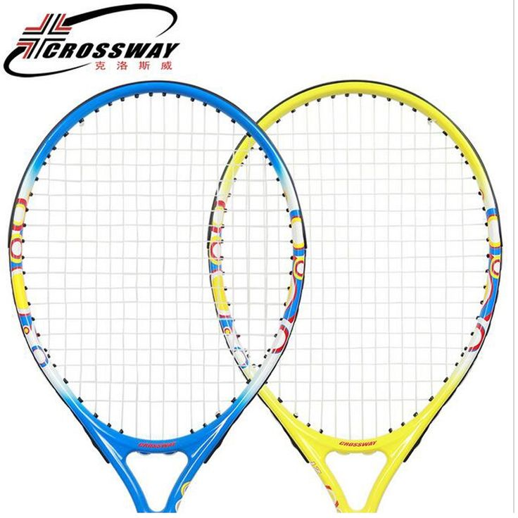 39.60$  Watch now - http://alif5k.shopchina.info/1/go.php?t=32816851959 - Crossway Carbon Fiber Tennis Racket 21 inch Racquets Equipped with Bag Size 4 raquetas de tenis for Children 4-6 years old  #shopstyle