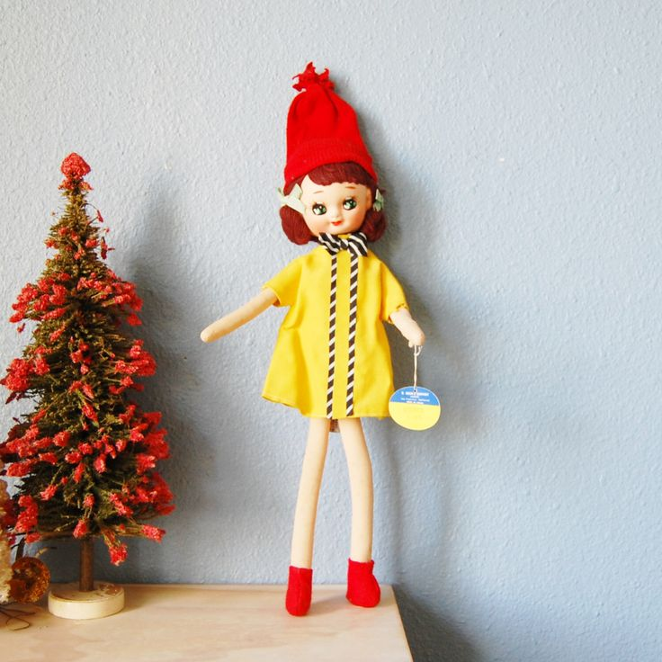 1960s Cloth Pose Doll, Way Too Cute, Made in Japan Mod, R Dakin Dream Doll Ginger 568, Anime Eyes by FeraliaVintage on Etsy https://www.etsy.com/listing/478971330/1960s-cloth-pose-doll-way-too-cute-made