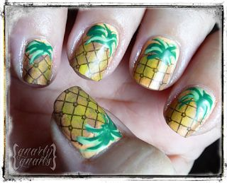 23 best fake nail arts images on pinterest belle nails cute this is a pretty awesome feature i am thrilled to be bringing you for the next week i was contacted by rockabilly luau asking if i co prinsesfo Choice Image