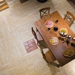 Dlaždice Chateau v rustikálním designu RAKO HOME