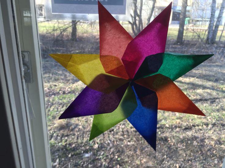 Aurinkosieppari: silkkipaperitähti