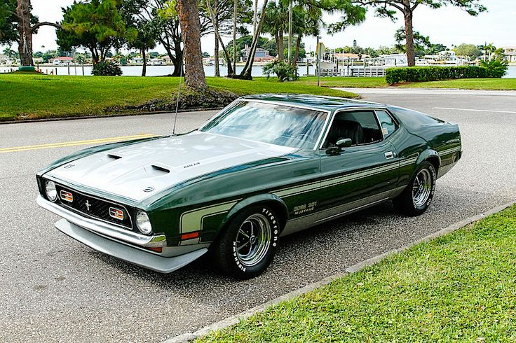1971 Ford Mustang Boss 351 5 8l Ford Mustangs