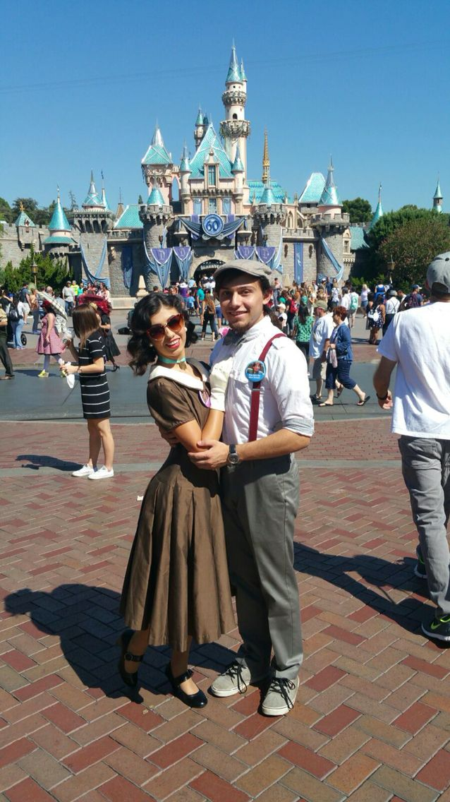 Dapper day disneybound of Lady and the Tramp