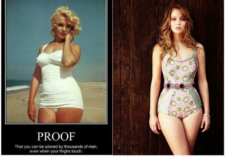 The Gap Between A Woman's Thighs - Natural Or Unnatural?
