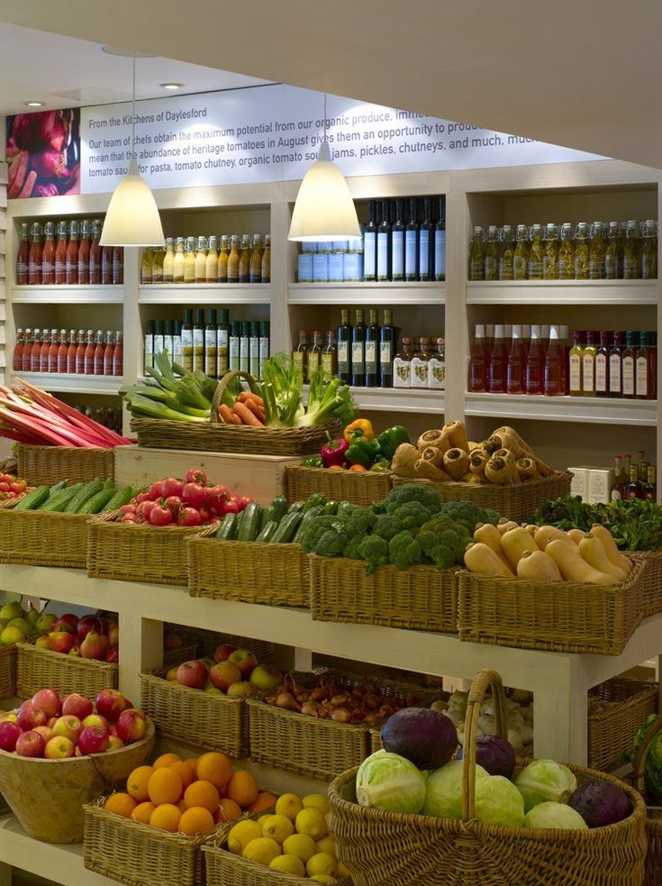 Daylesford Organic - our shops