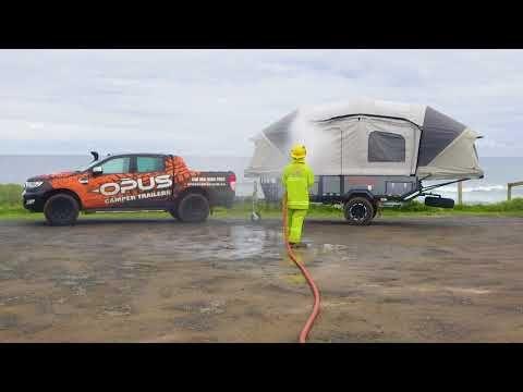 The Opus Moto Combines The Ever Popular Opus Folding Camper