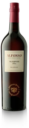 Oloroso. Ámbar dorado. Aromas con toques de madera y frutos secos. Al paladar sabroso, armónico y persistente, con recuerdos a nueces y un suave toque de vainilla. Ideal como aperitivo y para acompañar cacería y carnes rojas. / Oloroso. Amber gold in color. Intense aromas with hints of wood and dried nuts.  On the palate it is savory, harmonious, and persistent, with  nutty tones and a slight touch of vanilla.  It is ideal as an aperitif and as an accompaniment to game and red meats.