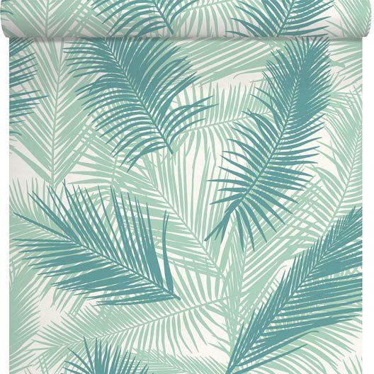 Papier Peint Feuille De Palme Vert Home Pinterest Ps And Merlin