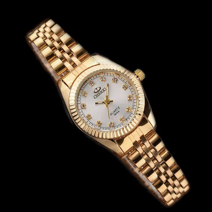 $8.99 (Buy here: https://alitems.com/g/1e8d114494ebda23ff8b16525dc3e8/?i=5&ulp=https%3A%2F%2Fwww.aliexpress.com%2Fitem%2FLuxury-Ladies-Gold-Watch-Women-Golden-Clock-Female-CHENXI-Rhineston-Dress-Quartz-watches-Waterproof-Watches-Grils%2F32757078980.html ) Luxury Ladies Gold Watch Women Golden Clock Female CHENXI Rhinestone Dress Quartz-watches Waterproof Watches Girl Creative Gift  for just $8.99