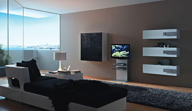 Brilliant Modern Wall Tv Unit Designs Galleries