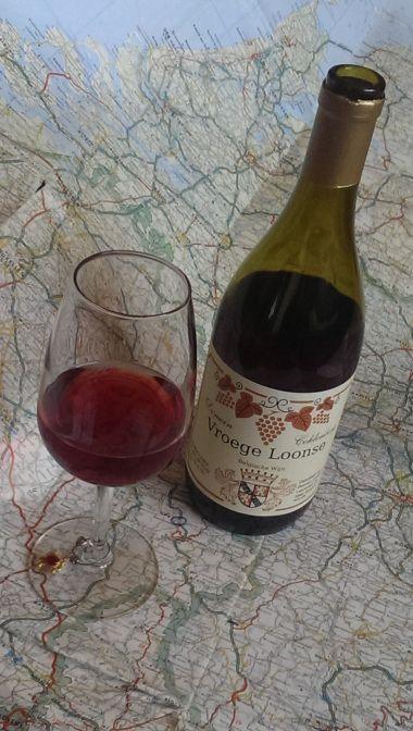 Vroege Loonse, Pinot Noir from Belgium.