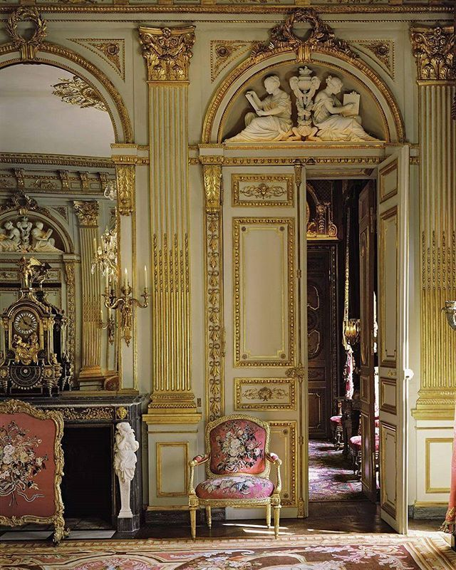 1257 best versalles petit trianon images on pinterest for Interieur baroque