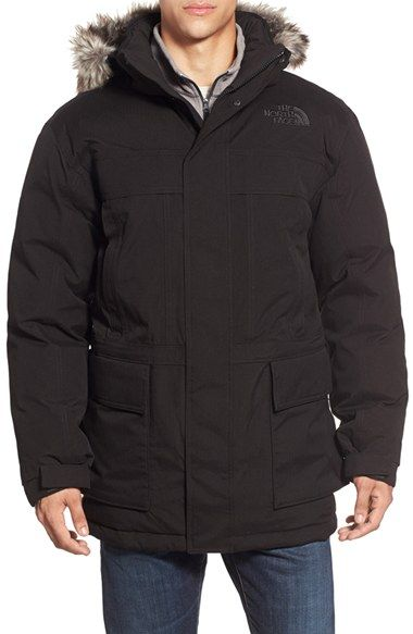 The North Face 'Mcmurdo Parka II' Waterproof Coat | Nordstrom