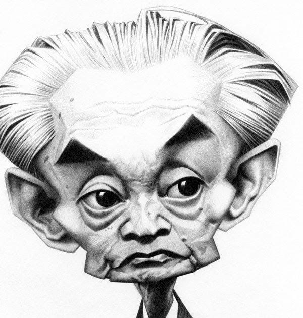 Yasunari Kawabata a reçu le prix Nobel de littérature en 1968. Petite contibrution au Caricaturama Showdown 3000!  qui, cette semaine, rend ...