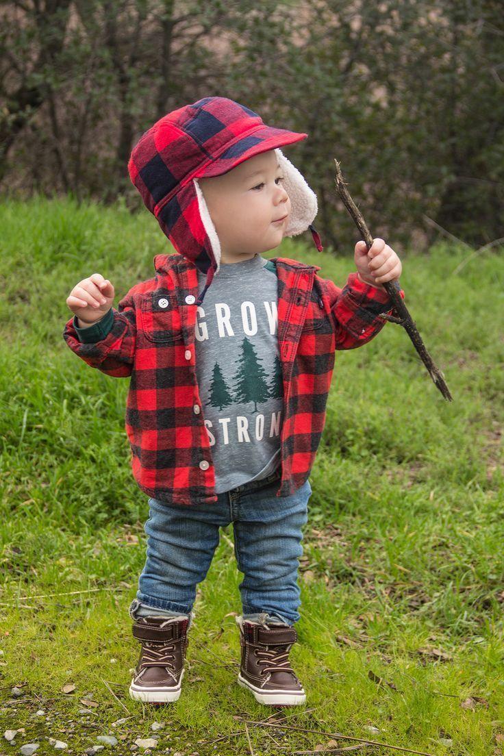 Lumberjack first birthday photoshoot ChristinaBondarPhotography