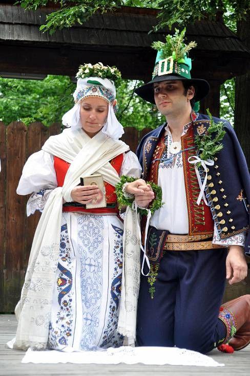Valašská svatba / Wallachian wedding, Czech republic