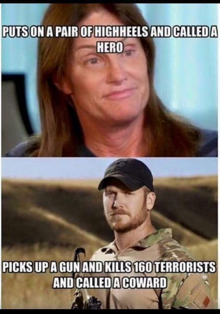 """If transgenderism is supposed to be """"normal,"""" why should Bruce """"Caitlyn"""" Jenner be regarded as brave or heroic?"""
