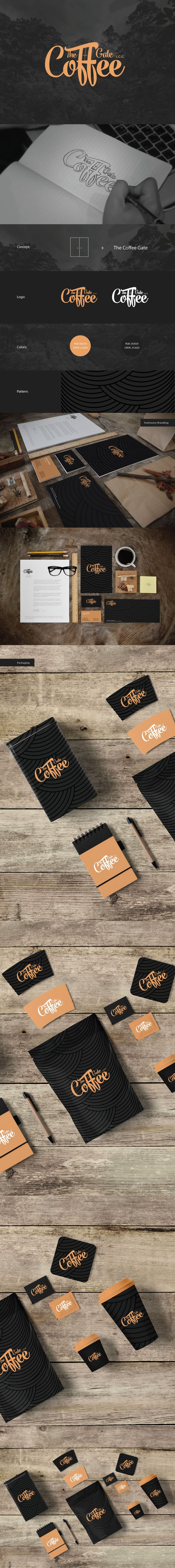 The Coffee Gate | Brand Identity by Nour Alsaleh