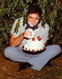 Image result for johnny cash eating cake