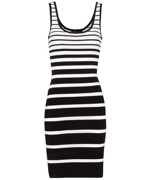 Mango Striped Knit Dress