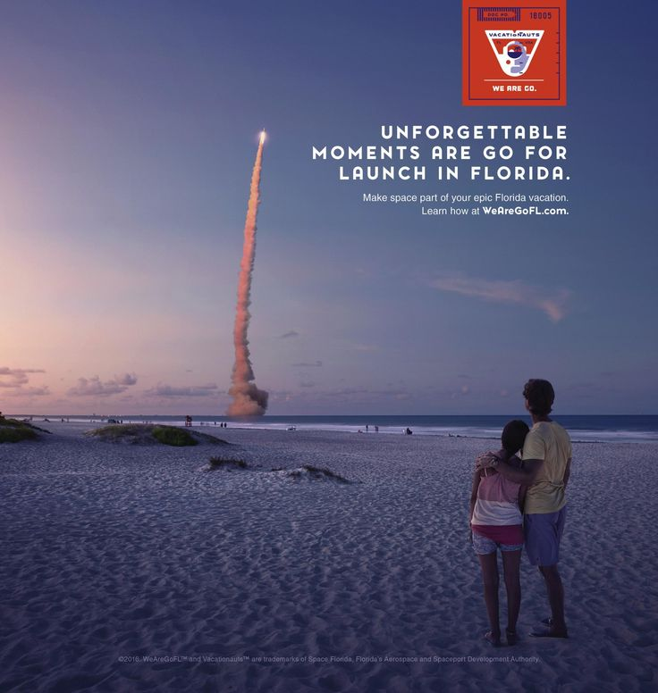 Space Florida: Unforgetable | Ads of the World™
