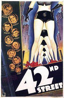 """Blu-Ray Pick of the Week: """"42nd Street"""" (1933) — The Movie Seasons"""