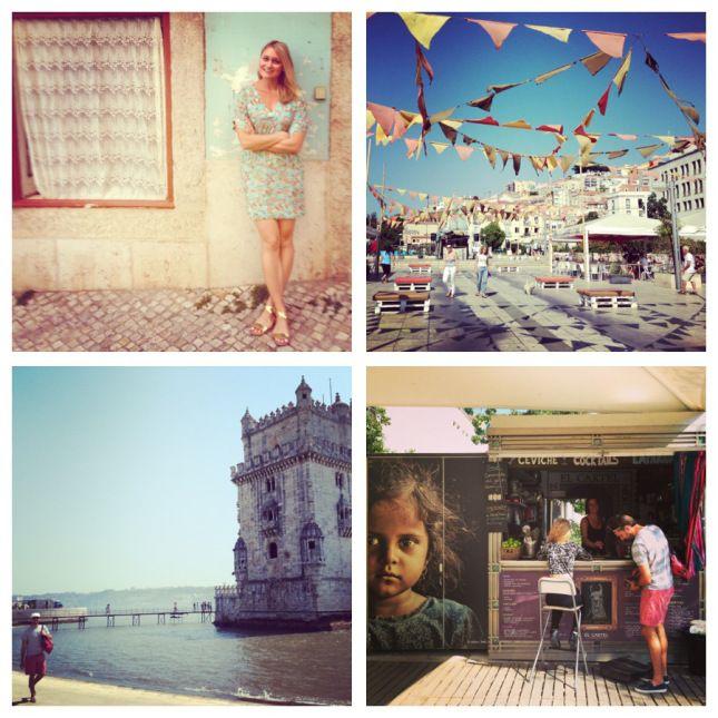 Lisbon Collage