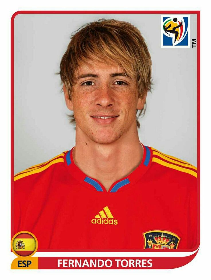 580 Fernando Torres - España - FIFA World Cup South Africa 2010