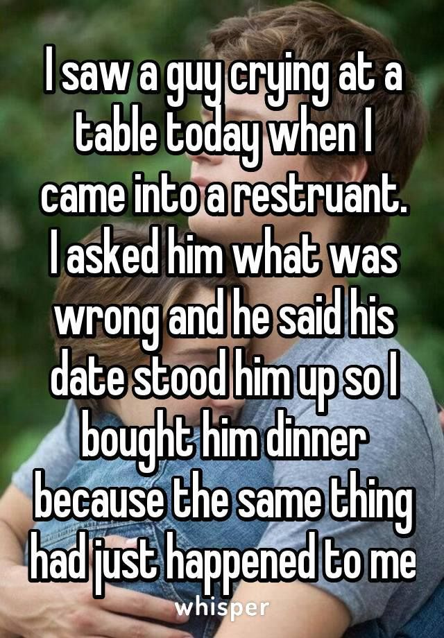 An accidental blind date