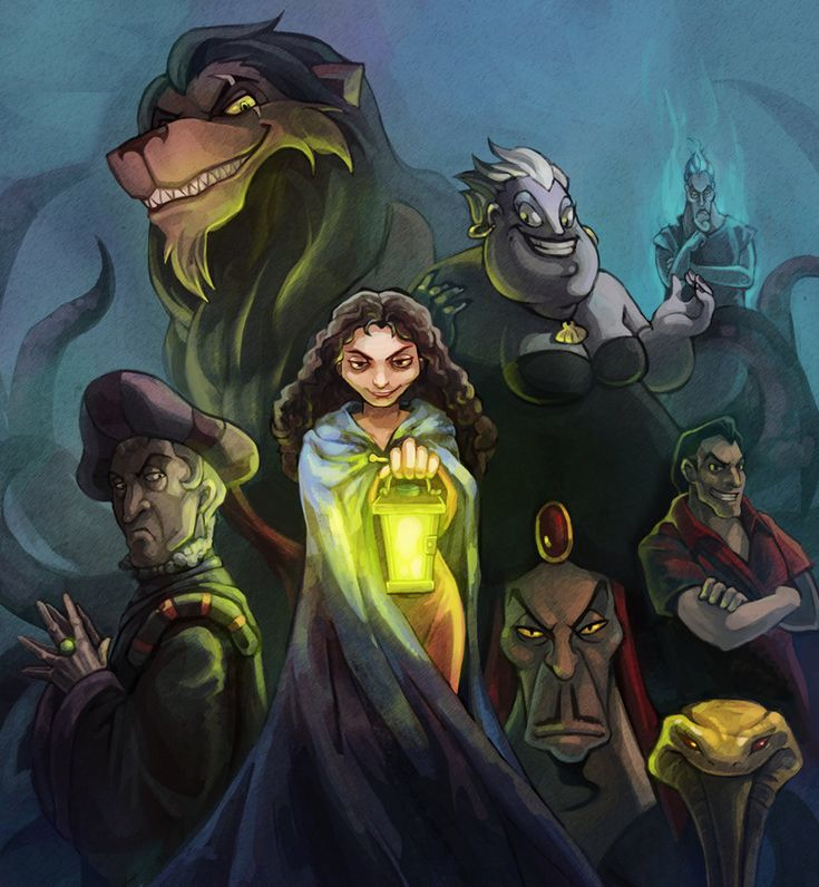 Best Disney Villains Images On Pinterest Disney Stuff - Artist brings disney villains to life in eerily realistic illustrations