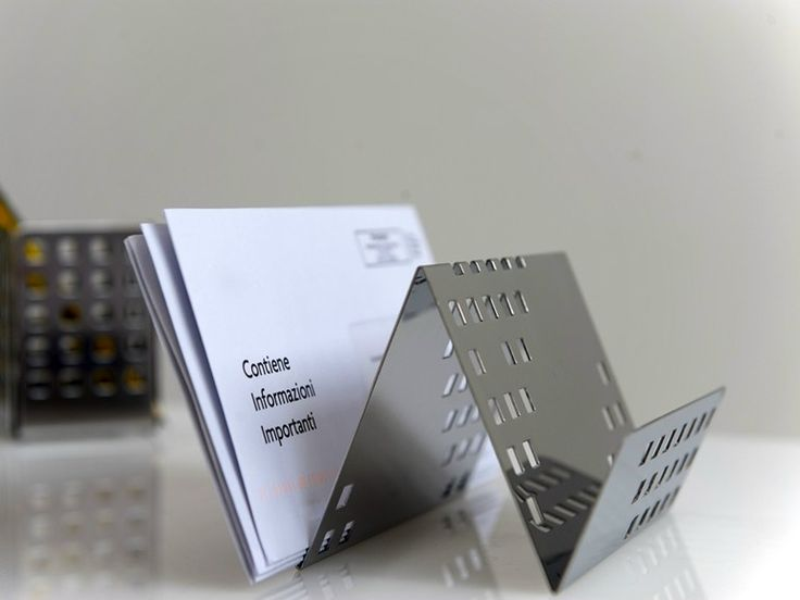 Stainless steel magazine file by G-Line Pro by Graepel Italiana