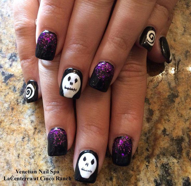 Halloween Nail Art Designs Gallery: Top 25 Ideas About Halloween Nail Designs On Pinterest
