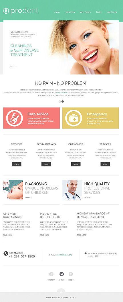 17 Best ideas about Dental Websites on Pinterest | Food website ...
