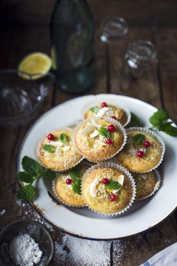 Gluten free Muffins with Apple Sauce & Lemon / Glutenfria Citronmuffins med Äppelmos - Evelinas Ekologiska