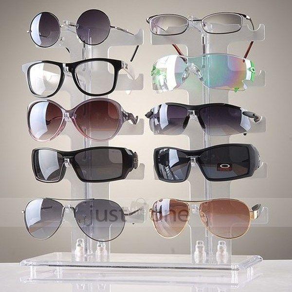 1 pcs 5 camadas simples conveniente Plastic óculos óculos óculos de sol mostrar Stand Holder moda exibição quadro do Rack grátis frete em Exposição & embalo de jóias de Jóias no AliExpress.com   Alibaba Group