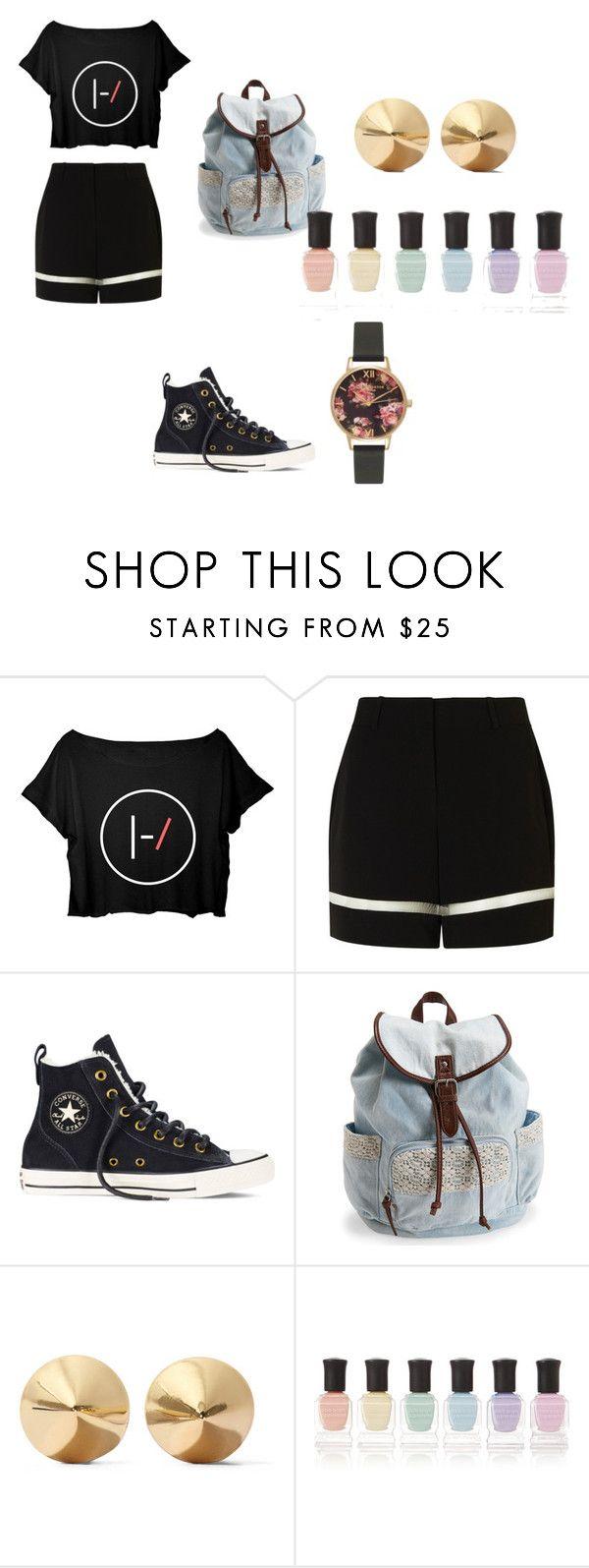 """#57"" by sadradinova-polina on Polyvore featuring мода, Alexander Wang, Converse, Aéropostale, Eddie Borgo, Deborah Lippmann, Olivia Burton, women's clothing, women и female"
