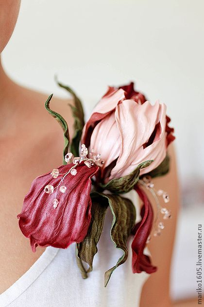 Fiori dal tessuto bulki-flower.ru/