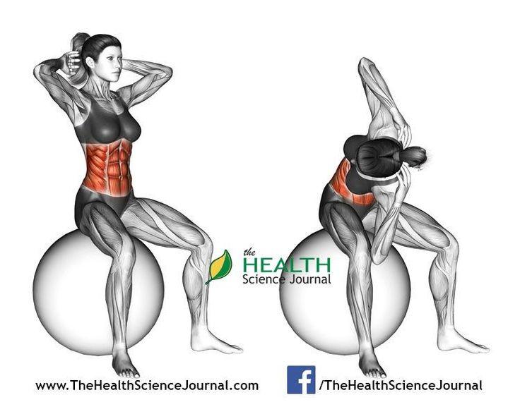© Sasham   Dreamstime.com - Fitball exercising. Spinal Stretch. Female